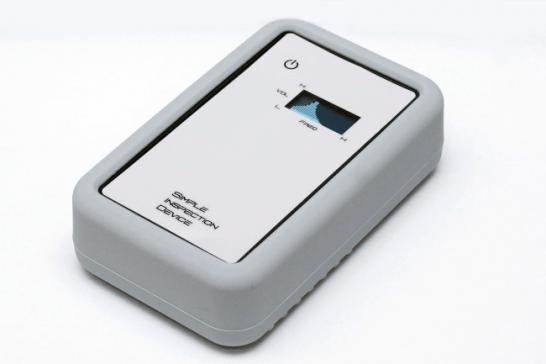 Simple Inspection Device(簡易チェッカー)」EM-EV1500