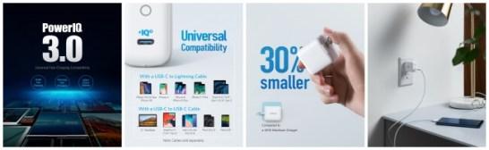 Anker PowerPort lll mini | PowerIQ 3.0搭載の超コンパクト次世代USB急速充電器