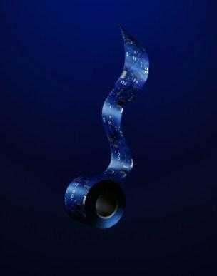 アルティメイト箔押しマスキングテープ 『 ナスカ・パルパの電子回路 』 青 [ a u(o)(あお) ]