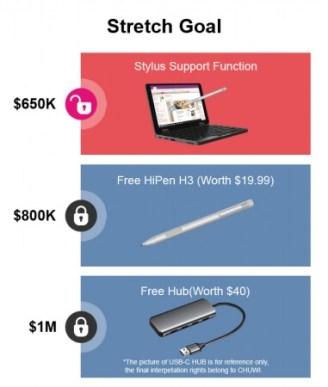 MiniBookはアクティブスタイラスペンに対応予定!