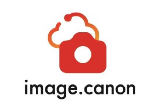 """""""image.canon""""のロゴ"""