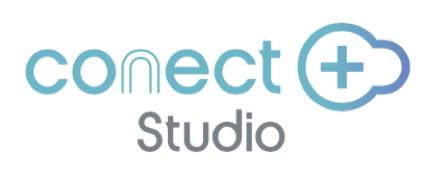 「conect+ Studio」ロゴ