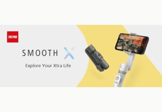 SMOOTH-X - ZHIYUNスマートフォン向けジンバル
