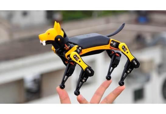 犬型プログラミングロボット【Petoi Bittle】