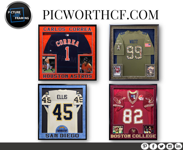 Picture Worth Custom Framing Custom Sports Jerseys