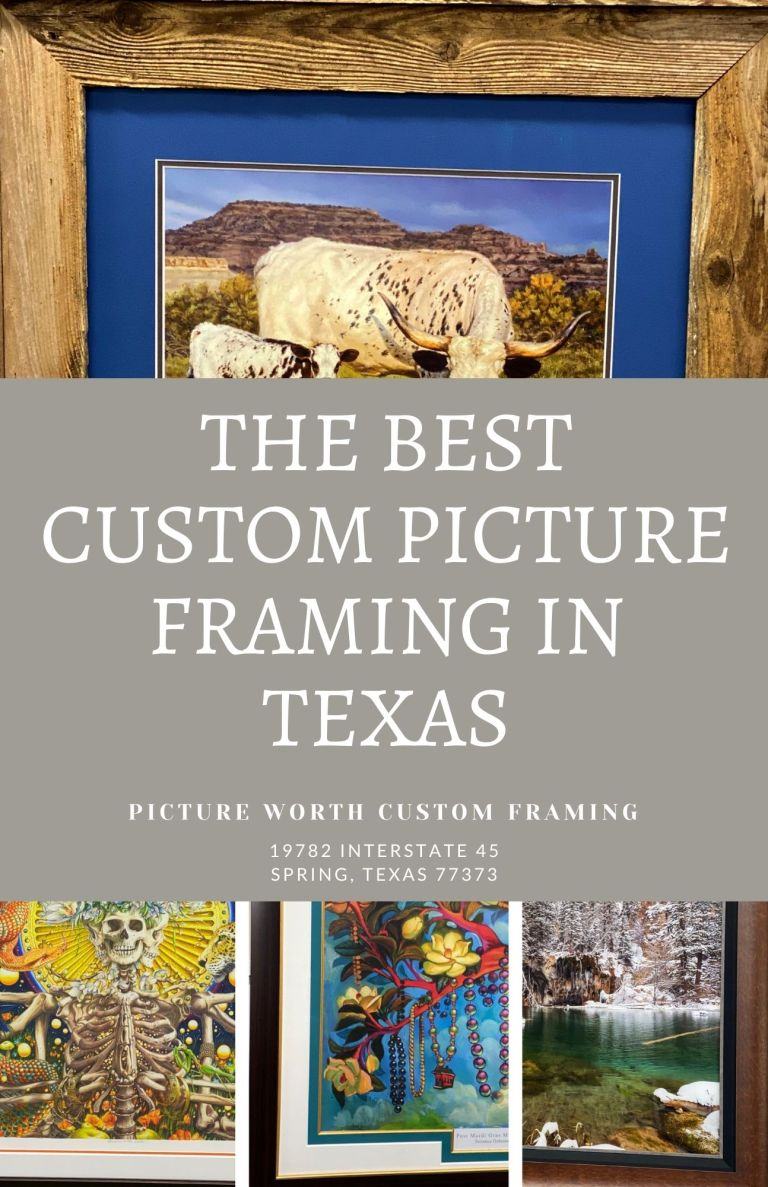 The best custom picture framing in texas