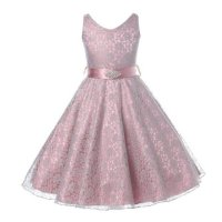 Toddler Kid Girls Princess Dress V