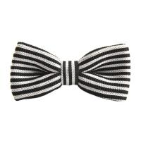 Men's Boy Fashion Striped Bowtie Knit Knitted Pre Tied Bow ...