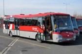 Papercraft del autobús SOR BN12 Veolia 1085. Manualidades a Raudales.