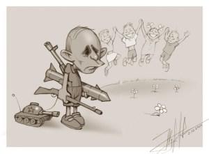 Адаптована карикатура Ю. Журавля