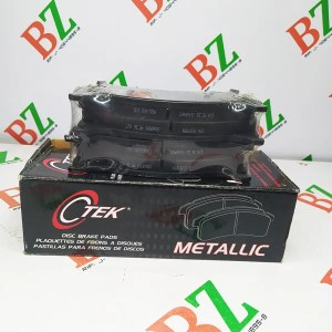 Tacos de freno Chevrolet Silverado motor 5.3 marca CTEK Cod 102.07850