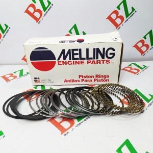Juego de Anillos Chevrolet Motor 350 Marca Melling Cod m2m 139 Medida 1.50