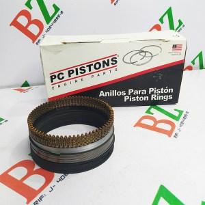 Juego de anillos Chevrolet modelo Silverado motor 5.3 marca Pc pistons Cod 44978 medida 1.00