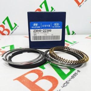 Juego de anillos Hyundai modelo Accent motor 1.3 marca Hyundai Cod 23040 22300 medida 0.25