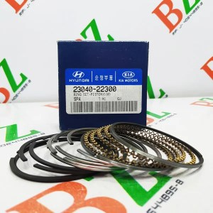 Juego de anillos Hyundai modelo Accent motor 1.3 marca Hyundai Cod 23040 22300 medida 0.50