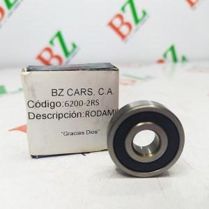 Rodamiento marca TMK Cod 6200 2RS