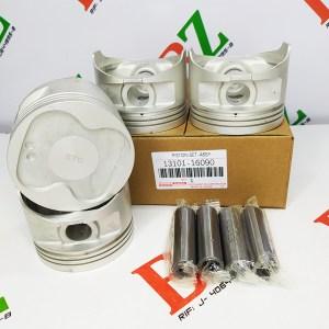 13101 16090 Juego de Pistones Corolla 1.6 4af Medidas STD 81.0 1.5 1.5 3.0 marca Korea