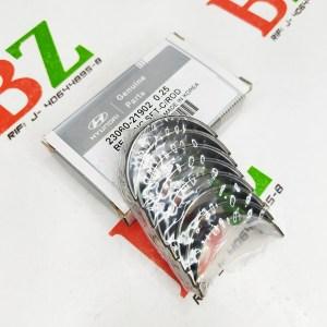 Concha de biela excel lancer signo motores 1.3 1 5 marca hyundai cod 23060 21902 medida 0.25