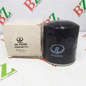 15208 W1111 Filtro de aceite Nissan marca Daewha