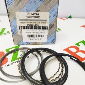 MD331313 0.75 Juego de anillos Med 0.75 A 030 Mitsubishi Lancer Signo motor 1.5 marca MCH