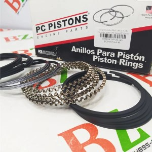 PCP 50514 0.40 Juego de anillos Med 1.00 A 0.40 Chevrolet motor 250 marca PC Pistons