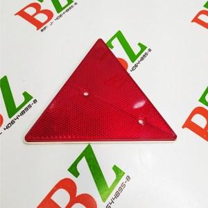triangulos reflector tipo mica de seguridad para autos y camiones color rojo cod re 303a r