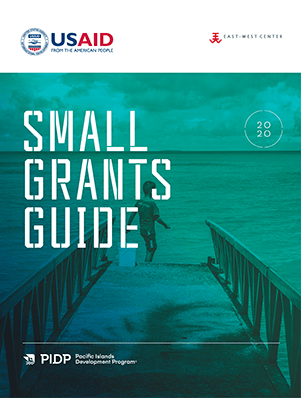 Small Grants Guide cover