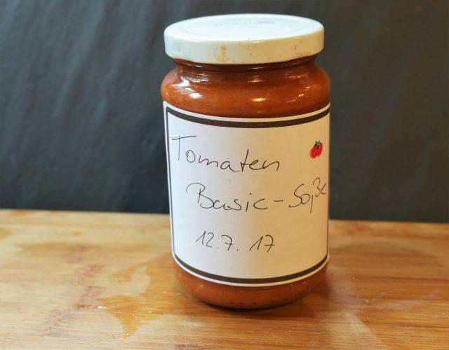 Tomatensoße – schnell auf Vorrat selbst gemacht #rezept #diy #vorrat