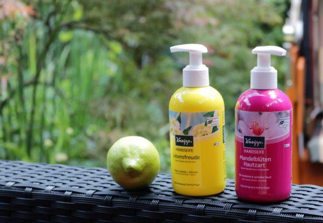 Zarte Pflege für beanspruchte Hände – Kneipp Seifen #kneippVip #handseifen #sauberehaende