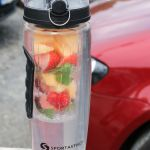 Infused Water im Fruity Star #sportastisch #lecker #Sommer #infusedwater