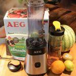Sport Mini Mixer von AEG – leckere, schnelle, einfache Rezepte by Pidufo's Welt #smoothie #milchshake #andmore