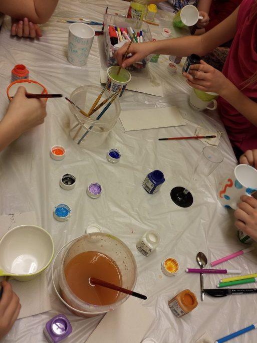 Keraamika värvimine