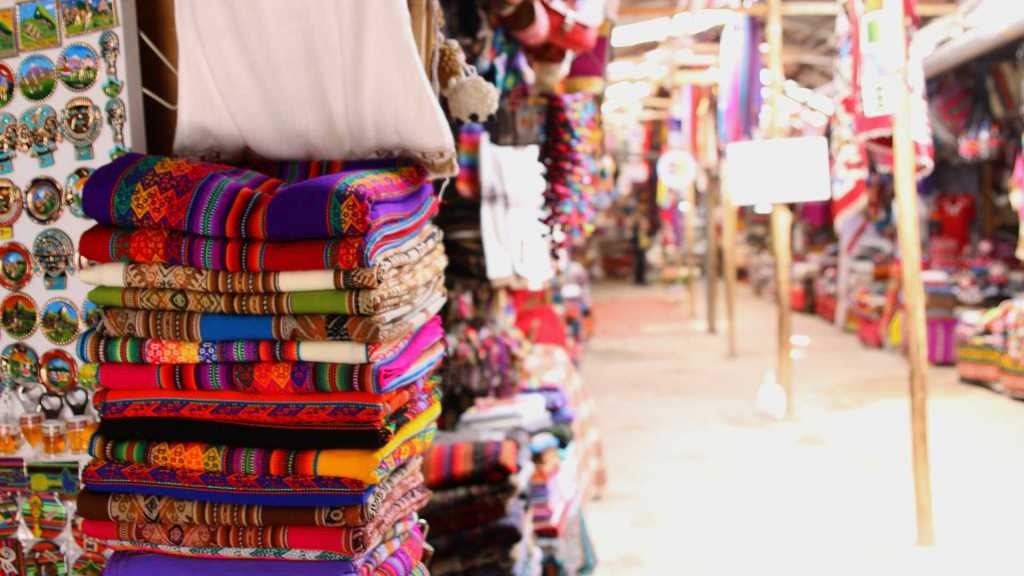 Traditional market in Cusco