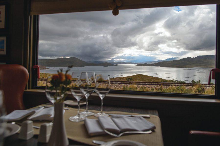Dining room at Belmond Andean Explorer
