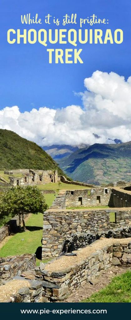 Choquequirao Trek - Pinterest image