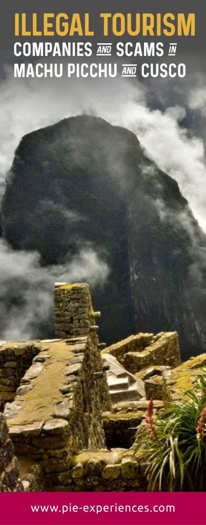 Scams in Machu Picchu - Pinterest image