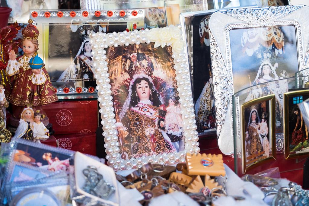 The Virgin Carmen is the patron saint of Paucartambo
