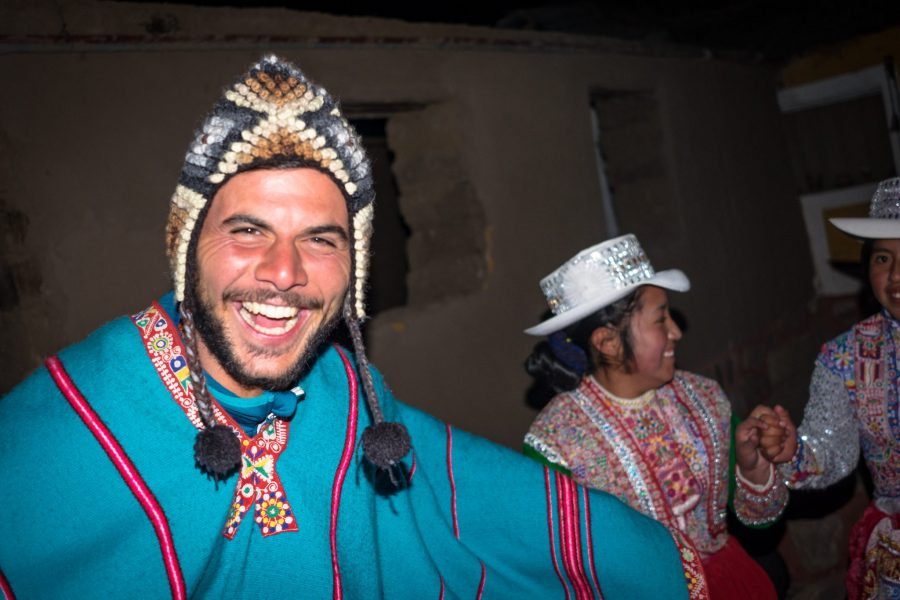 Homestay tours in Colca Canyon - Dancing with the locals in Sibayo.
