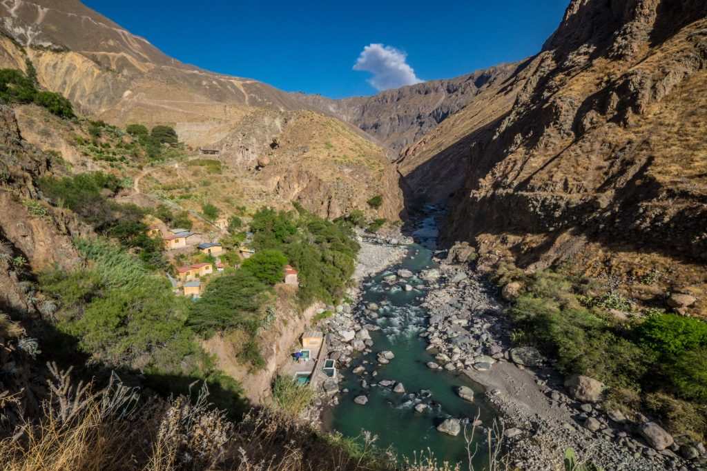 Colca Canyon trek - Llahuar Lodge.