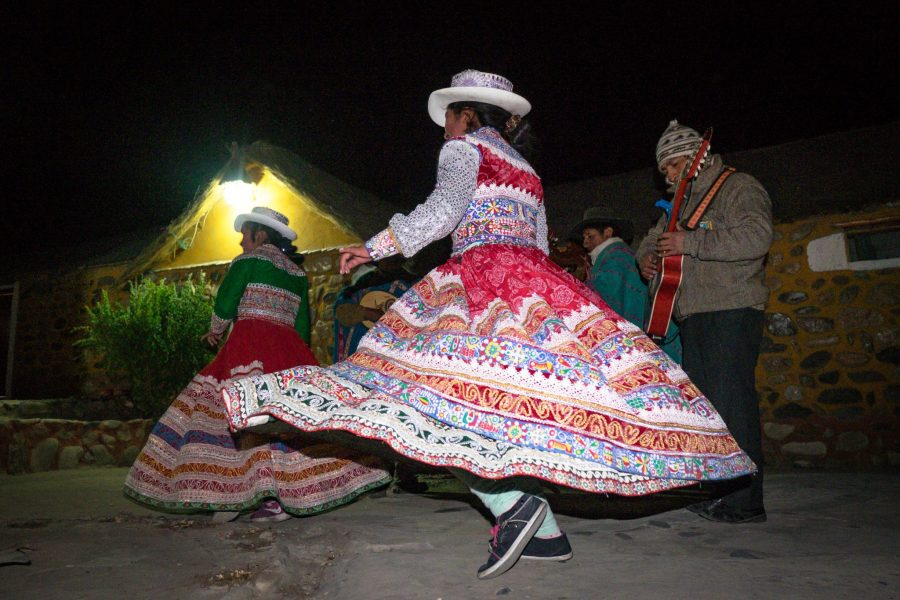 Homestay tours in Colca Canyon - Local dancing.