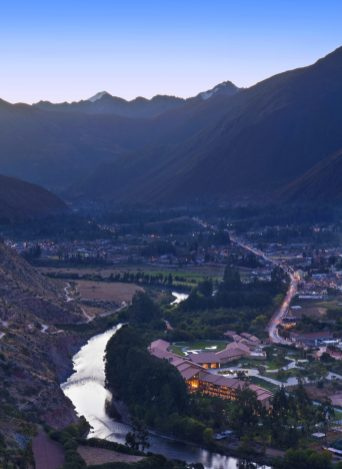 Luxury hotels in Sacred Valley - Views of the valley at Tambo del Inka.