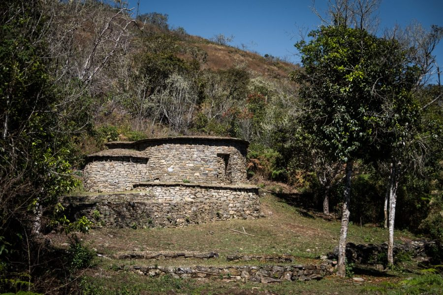 New Inca Trail to Machu Picchu, Carcel Trek - Inca Carcel prison