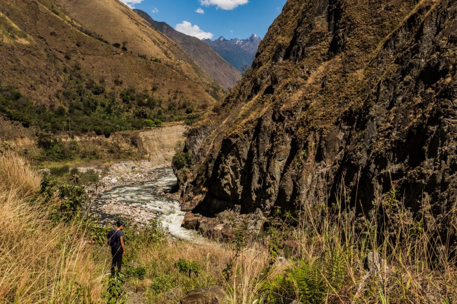 New Inca Trail to Machu Picchu, Carcel Trek - Hiking to the Urubamba River.