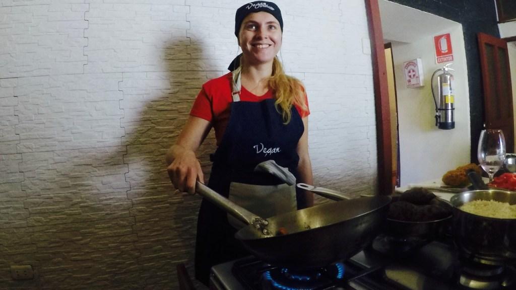 Vegan cooking class Cusco
