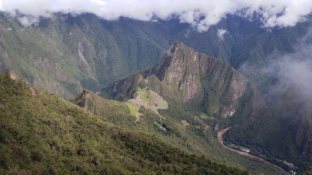 Hiking Machu Picchu Mountain-view of Machu Picchu