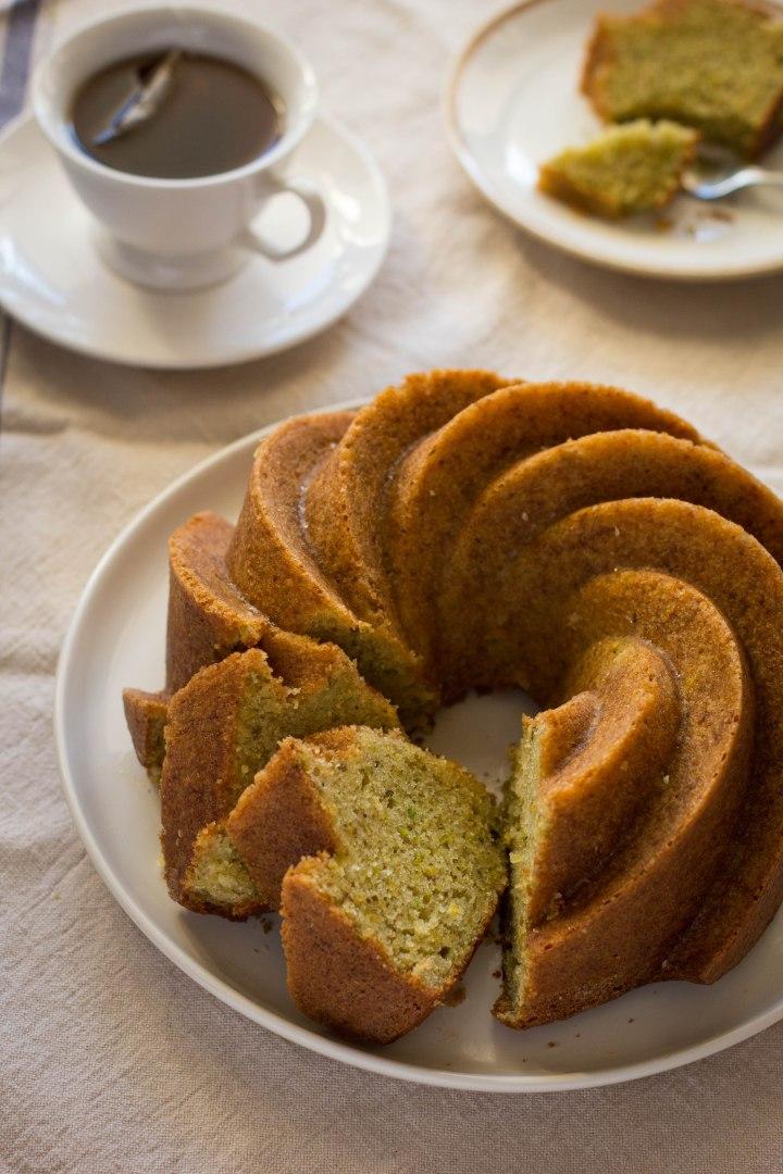 עוגת תפוזים ופיסטוקים