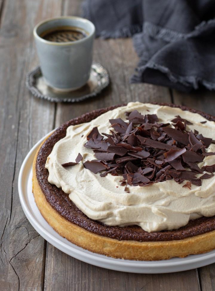 טארט שוקולד וקפה