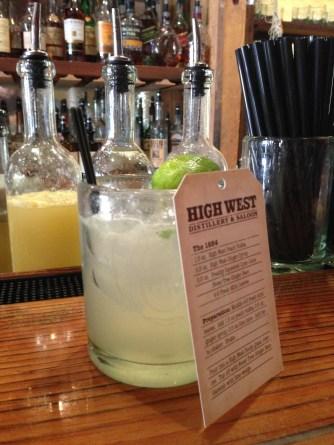 High West Vodka Cocktail