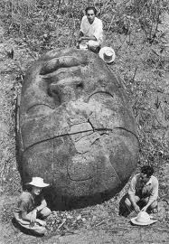 olmec head 3