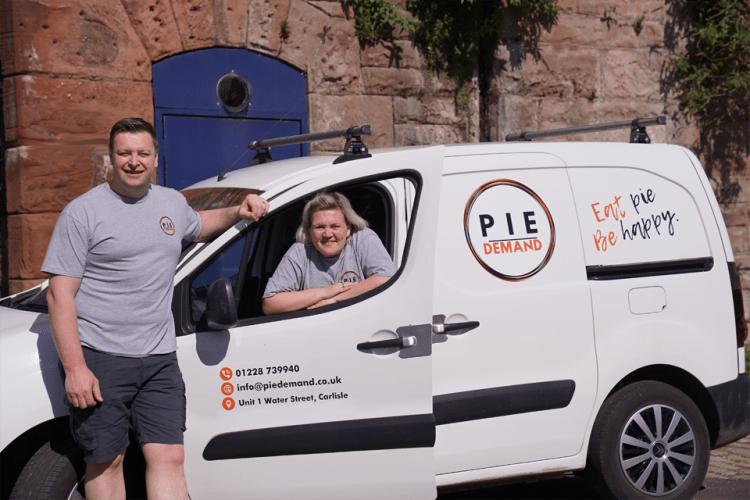 Pie Demand Carlisle. Family Run Business